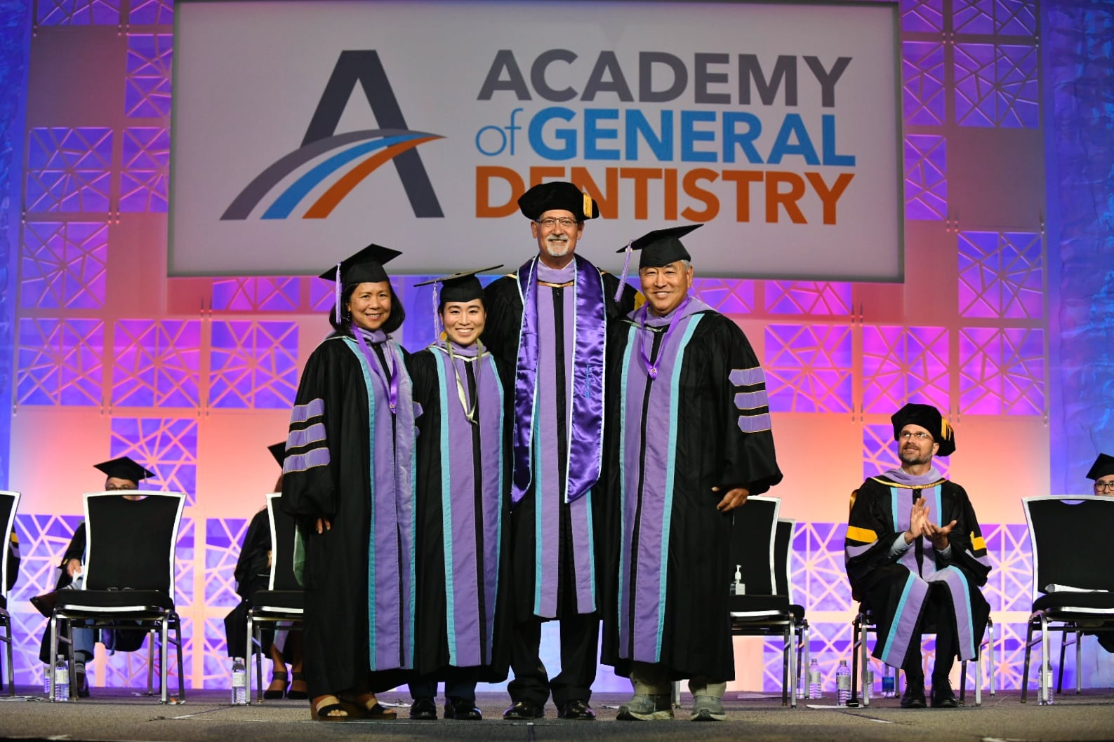 It's a family affair with Dr.'s Tanaka and Dr. Leong receiving their Academy of General Dentistry Mastership and Fellowship in 2021